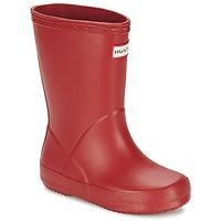 鞋子 儿童 雨靴 Hunter 赫特威灵頓 KIDS FIRST CLASSIC 红色
