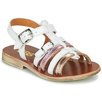 鞋子 女孩 涼鞋 GBB BANGKOK 白色