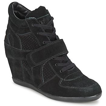 鞋子 女士 高帮鞋 Ash 艾熙 BOWIE 黑色