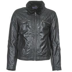 衣服 男士 皮夹克/ 人造皮革夹克 Teddy Smith 泰迪 史密斯 BLEATHER 黑色
