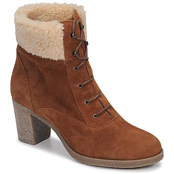 鞋子 女士 短靴 André BOHEME 驼色