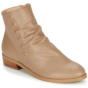 鞋子 女士 短筒靴 André ELIPSE 驼色