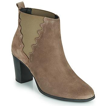 鞋子 女士 短靴 André NORINE 灰褐色
