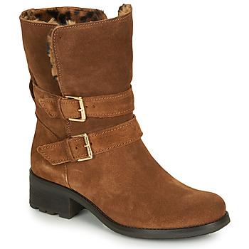 鞋子 女士 短筒靴 André MAJOLIE 驼色