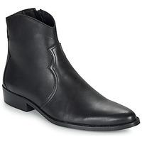 鞋子 男士 短筒靴 André WESTERN 黑色