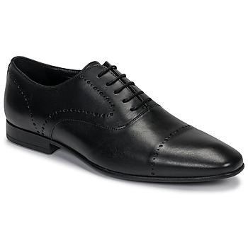 鞋子 男士 系带短筒靴 André CURTIS 黑色