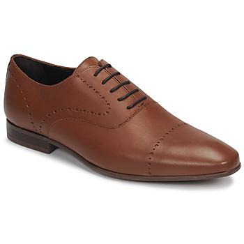 鞋子 男士 系带短筒靴 André CURTIS 棕色
