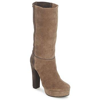 鞋子 女士 短靴 Maki Uehara SHIGE 灰褐色 / 黑色