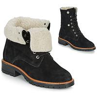 鞋子 女士 短筒靴 André BALADE 黑色