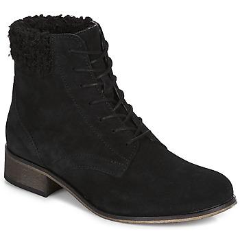 鞋子 女士 短筒靴 André GODILLETTE 黑色