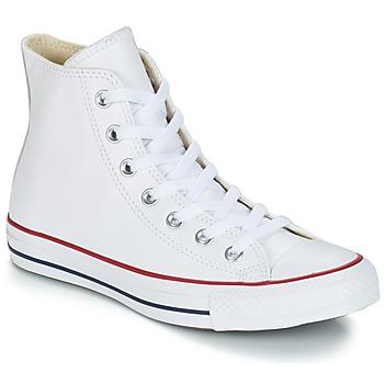 鞋子 高幫鞋 Converse 匡威 Chuck Taylor All Star CORE LEATHER HI 白色