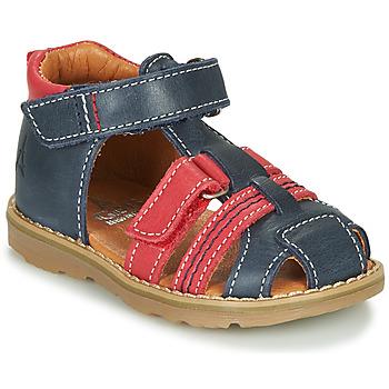 鞋子 男孩 凉鞋 GBB MACARON 海蓝色 / 红色