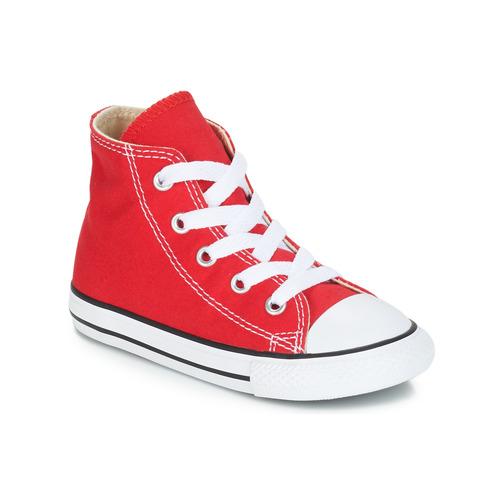 鞋子 儿童 高帮鞋 Converse 匡威 CHUCK TAYLOR ALL STAR CORE HI 红色