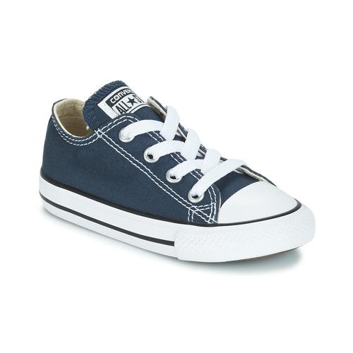 鞋子 儿童 球鞋基本款 Converse 匡威 CHUCK TAYLOR ALL STAR CORE OX 海蓝色