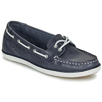 鞋子 女士 船鞋 TBS CLAMER 海蓝色