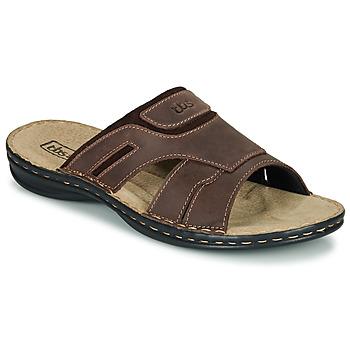 鞋子 男士 休闲凉拖/沙滩鞋 TBS BELTONN 棕色