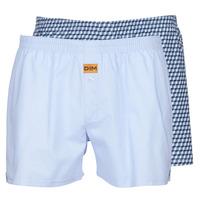 内衣  男士 男士短裤 DIM BOXER FLOTTANT x2 蓝色