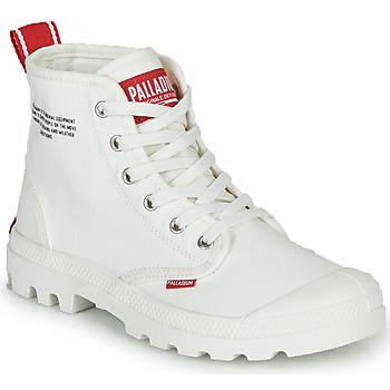 鞋子 短筒靴 Palladium 帕拉丁 PAMPA HI DU C 白色