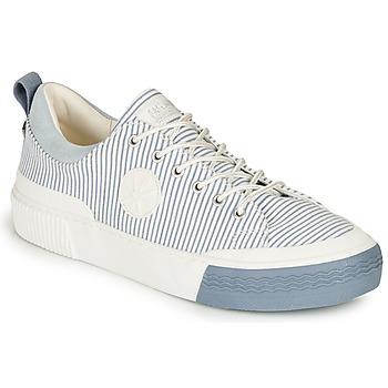 鞋子 女士 球鞋基本款 Palladium 帕拉丁 STUDIO 02 TXT 白色 / 蓝色