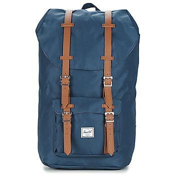 包 雙肩包 Herschel LITTLE AMERICA 海藍色