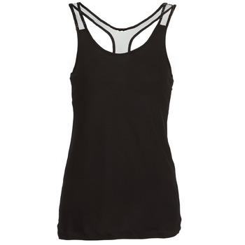 衣服 女士 无领短袖套衫/无袖T恤 Religion DELICATE 黑色