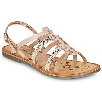 鞋子 女孩 凉鞋 Kickers DIXON 玫瑰色