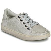 鞋子 女孩 球鞋基本款 Kickers LYKOOL 灰色 / 银灰色 / Leopard