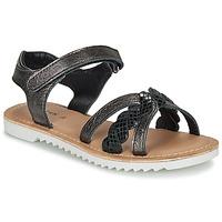 鞋子 女孩 凉鞋 Kickers SHARKKY 黑色