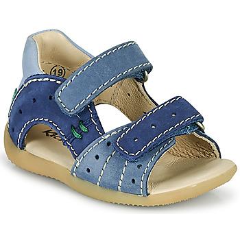 鞋子 男孩 涼鞋 Kickers BOPING-3 藍色