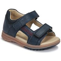 鞋子 男孩 凉鞋 Kickers PLAZABI 海蓝色