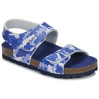 鞋子 男孩 凉鞋 Kickers SUMMERKRO 蓝色