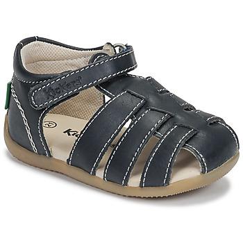 鞋子 男孩 凉鞋 Kickers BIGFLO-3 海蓝色