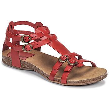 鞋子 女士 凉鞋 Kickers ANA 红色