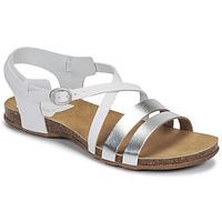 鞋子 女士 涼鞋 Kickers ANATOMIUM 白色 / 銀色