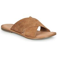鞋子 女士 休闲凉拖/沙滩鞋 Kickers DIAZ-2 驼色