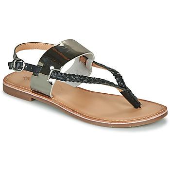 鞋子 女士 凉鞋 Kickers ESTHERA 黑色 / 银灰色