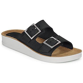 鞋子 女士 休閑涼拖/沙灘鞋 Kickers OVIDA 黑色