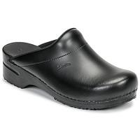 鞋子 男士 洞洞鞋/圆头拖鞋 Sanita KARL OPEN 黑色