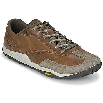 鞋子 男士 球鞋基本款 Merrell 迈乐 TRAIL GLOVE 5 LTR 棕色
