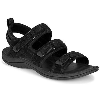 鞋子 女士 运动凉鞋 Merrell 迈乐 SIREN 2 STRAP 黑色