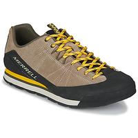 鞋子 男士 球鞋基本款 Merrell 迈乐 CATALYST SUEDE 米色 / 黑色