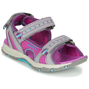 鞋子 女孩 运动凉鞋 Merrell 迈乐 PANTHER SANDAL 2.0 玫瑰色 / 灰色