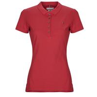衣服 女士 短袖保羅衫 Tommy Hilfiger NEW CHIARA 紅色
