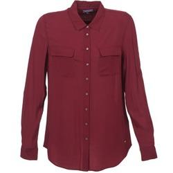 衣服 女士 衬衣/长袖衬衫 Tommy Hilfiger FEMI 波尔多红