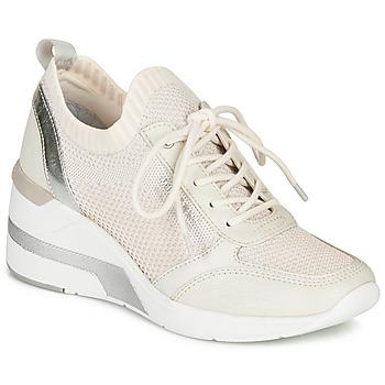 鞋子 女士 球鞋基本款 Mustang 1303303-203 白色