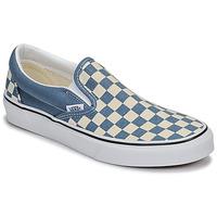 鞋子 平底鞋 Vans 范斯 Classic Slip-On 蓝色 / 白色