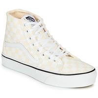 鞋子 女士 高帮鞋 Vans 范斯 SK8-HI TAPERED 玫瑰色 / 白色
