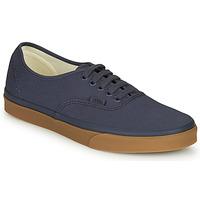 鞋子 男士 球鞋基本款 Vans 范斯 Authentic 海蓝色