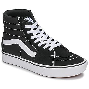 鞋子 高帮鞋 Vans 范斯 ComfyCush SK8-Hi 黑色 / 白色