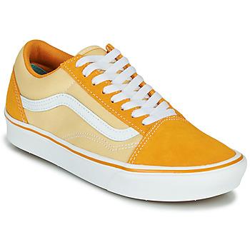 鞋子 女士 球鞋基本款 Vans 范斯 ComfyCush Old Skool 黄色